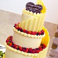 ウェディングケーキ010