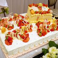 ウェディングケーキ011